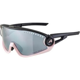 Alpina 5W1NG CM+ Glasses, negro/rosa